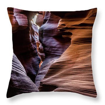 Antelope Canyon 8 Throw Pillow