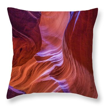 Antelope Canyon Beauty Throw Pillow