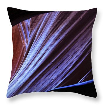 Antelope Canyon I Throw Pillow