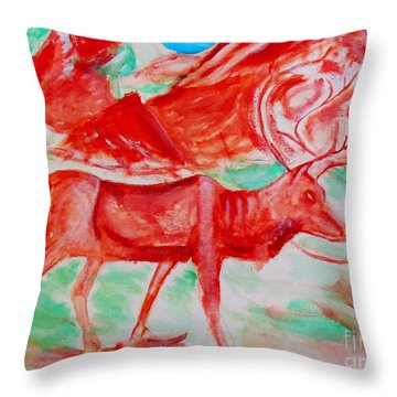 Antelope Save Throw Pillow