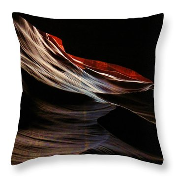 Antelope Valley Slot Canyon 4 Throw Pillow