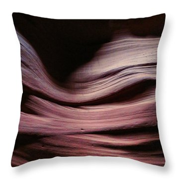 Antelope Valley Slot Canyon 6 Throw Pillow
