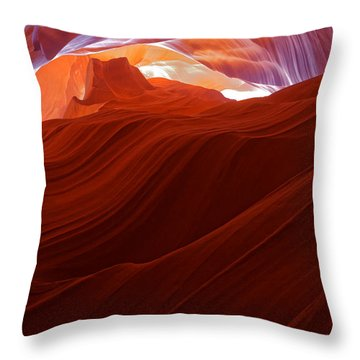 Throw Pillow featuring the photograph Antelope View by Jonathan Davison