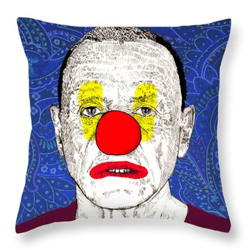 Anthony Hopkins Throw Pillow by Jason Tricktop Matthews