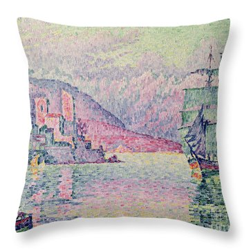 Antibes Throw Pillow