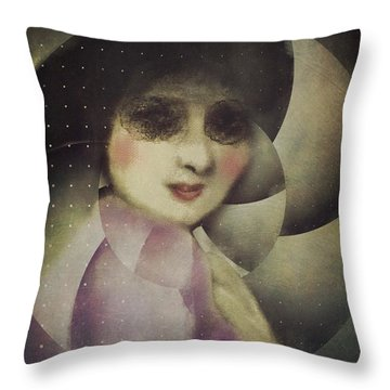 Throw Pillow featuring the digital art Anticipation by Alexis Rotella