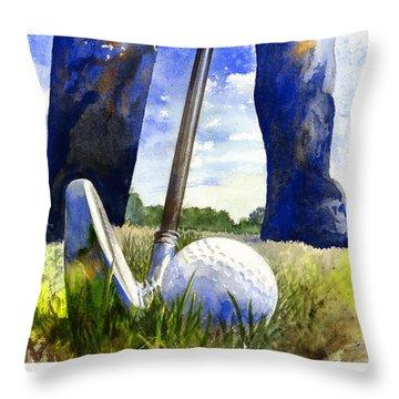 Golf Throw Pillows