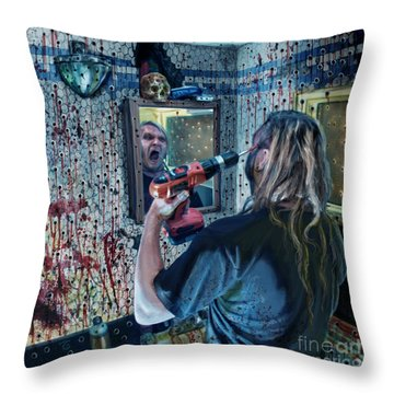 Anticipation Of Death Is Killing Me Throw Pillow