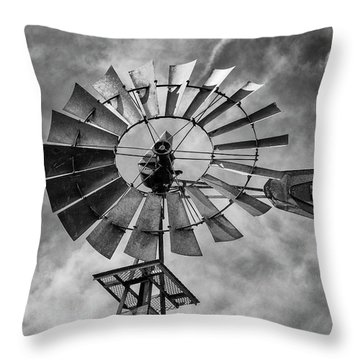Throw Pillow featuring the photograph Anticipation by Stephen Stookey