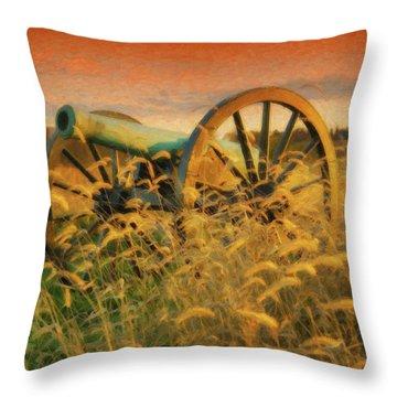 Antietam Battlefield - Dwp140321 Throw Pillow