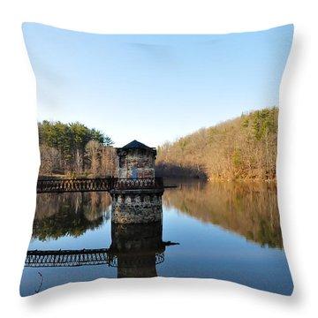 Antietam Creek Throw Pillow by Bill Cannon