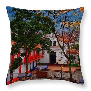Antioquia Throw Pillow by Skip Hunt