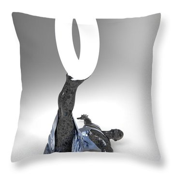 Antipode Lam Number Two Throw Pillow