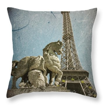 Antiquation Throw Pillow by Andrew Paranavitana