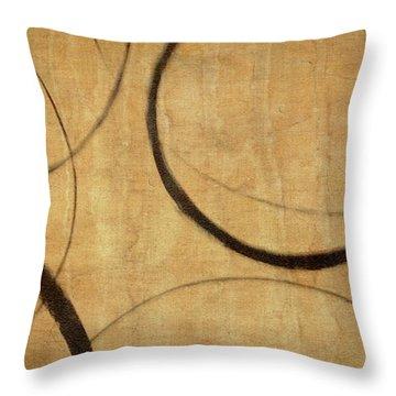 Antique Ensos Throw Pillow by Julie Niemela