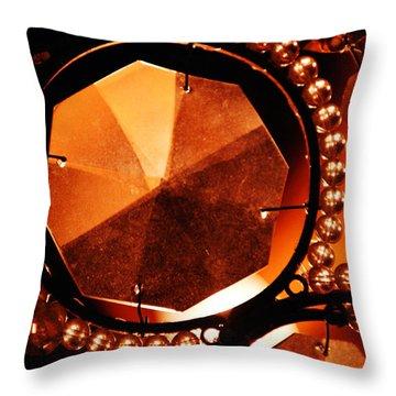 Antique Glass Throw Pillow by Jill Reger