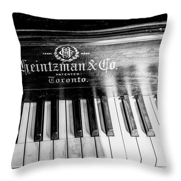 Antique Keys Throw Pillow