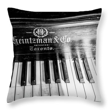 Antique Keys Throw Pillow