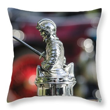 Antique Radiator Cap Throw Pillow