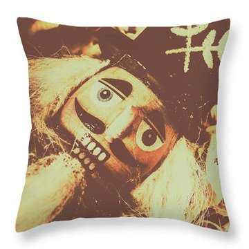 Antiques Of Play Throw Pillow