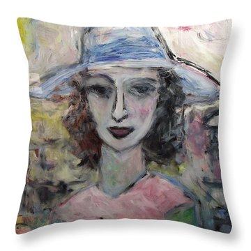 Antoinelle Throw Pillow by Mykul Anjelo