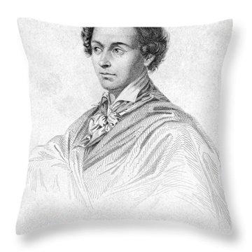 Antonin Car�me (1783-1833) Throw Pillow by Granger