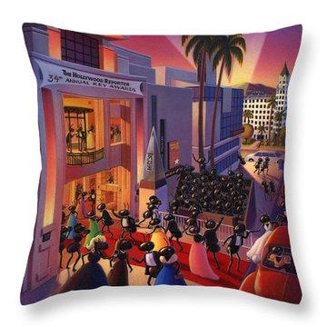 Beverly Hills Throw Pillows