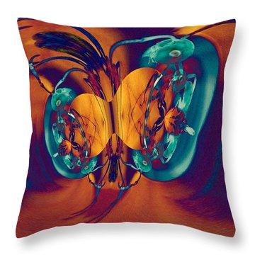 Antsy Series - Genesis Throw Pillow
