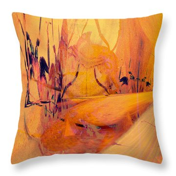 Antsy Series - Life's A Stage Throw Pillow