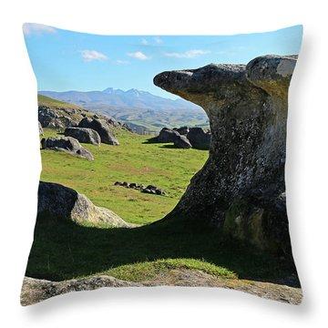 Anvil Rock Throw Pillow