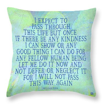 Any Good Thing Throw Pillow