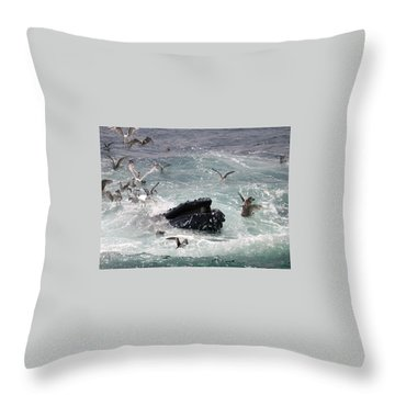 Any Leftovers Throw Pillow