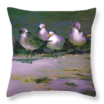 Any New Gossip Throw Pillow