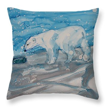 Anybody Home? Throw Pillow