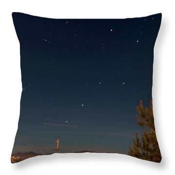 Throw Pillow featuring the photograph Anybody Notice by Charles Ables