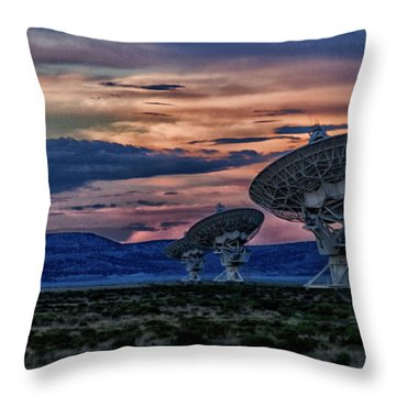 Anyone Out There Throw Pillow
