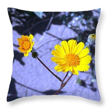 Anza Flower Throw Pillow