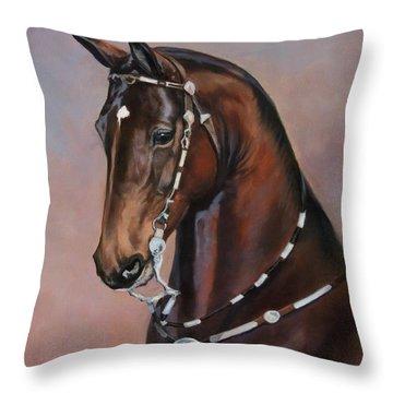 Morgan Horse Throw Pillows