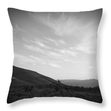 Apache Flats Throw Pillow