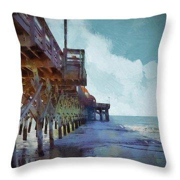 Apache Pier Throw Pillow