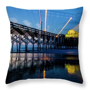 Apache Pier Throw Pillow