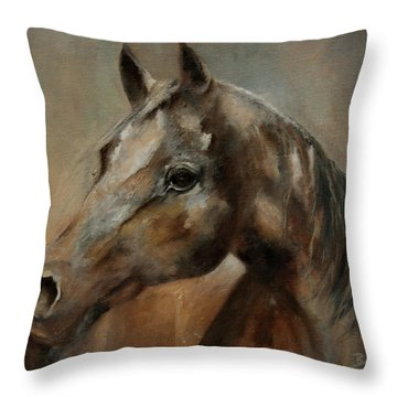 Apache Spirit I-2 Throw Pillow
