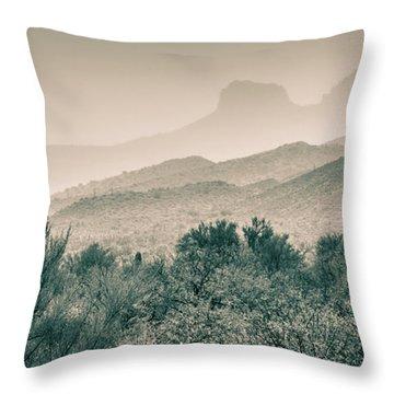 Apache Trail Throw Pillow