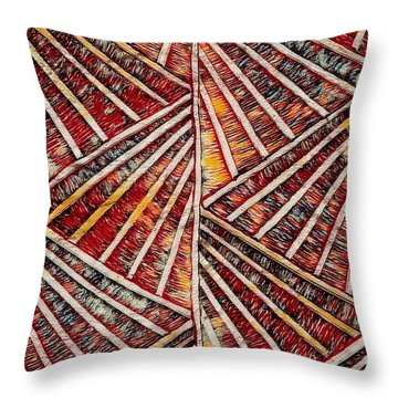 Apartment 12b Throw Pillow