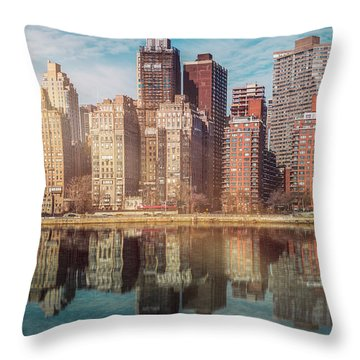Apartment Blocks  Throw Pillow