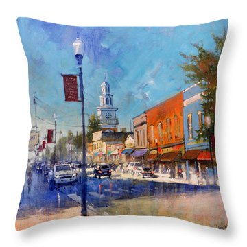 Apex Sunday Morning Throw Pillow