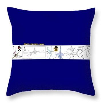 Aphelion Phlight Path Throw Pillow