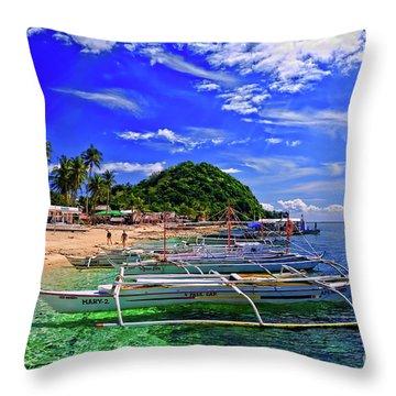 Apo Island Throw Pillow