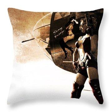 Apocalypse War 1 Throw Pillow