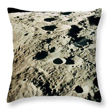 Apollo 15: Moon, 1971 Throw Pillow by Granger